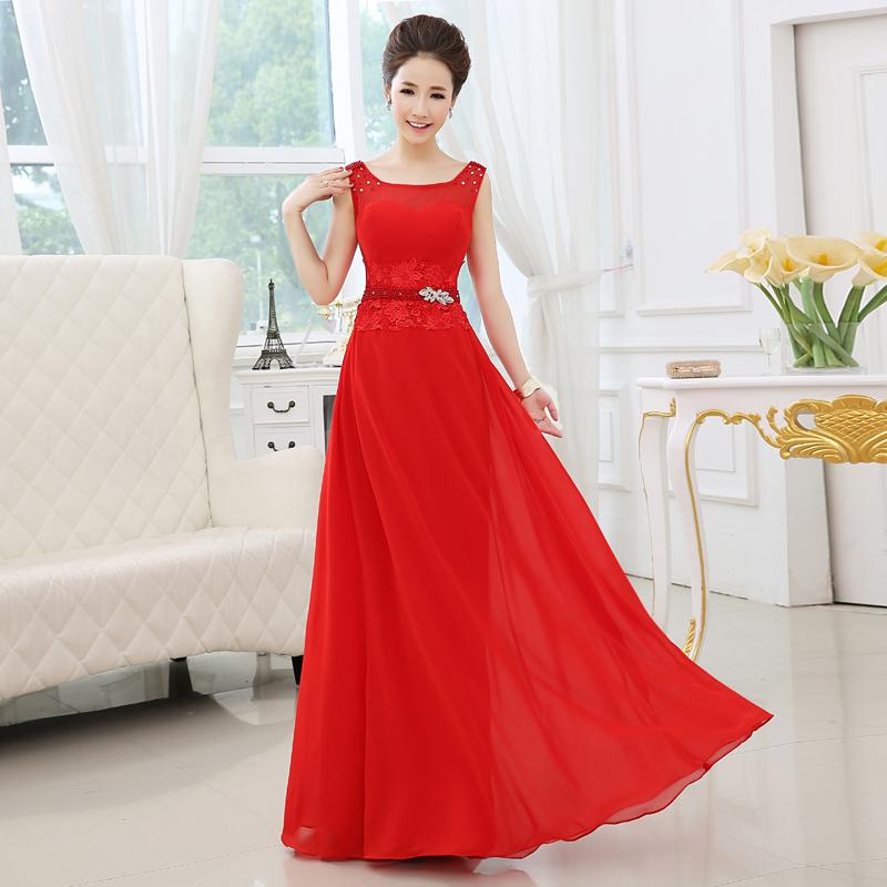 Abendkleid rot herzausschnitt